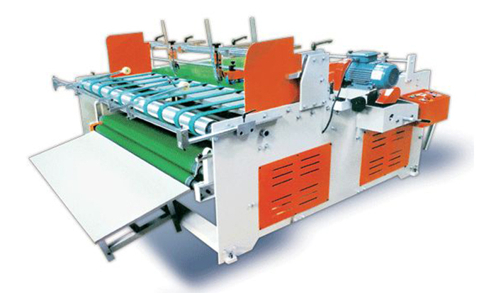 YIKE Type Semi Automatic Pressing Type Gluing Machine