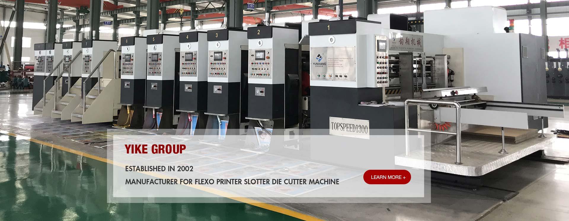 High Defination Flexo Printer Slotter Die Cutter Machine