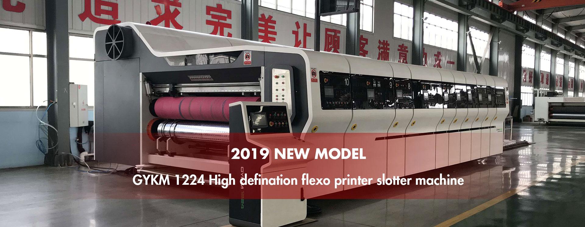 Lead Edge Flexo Printing Slotting Die Cutting Machine