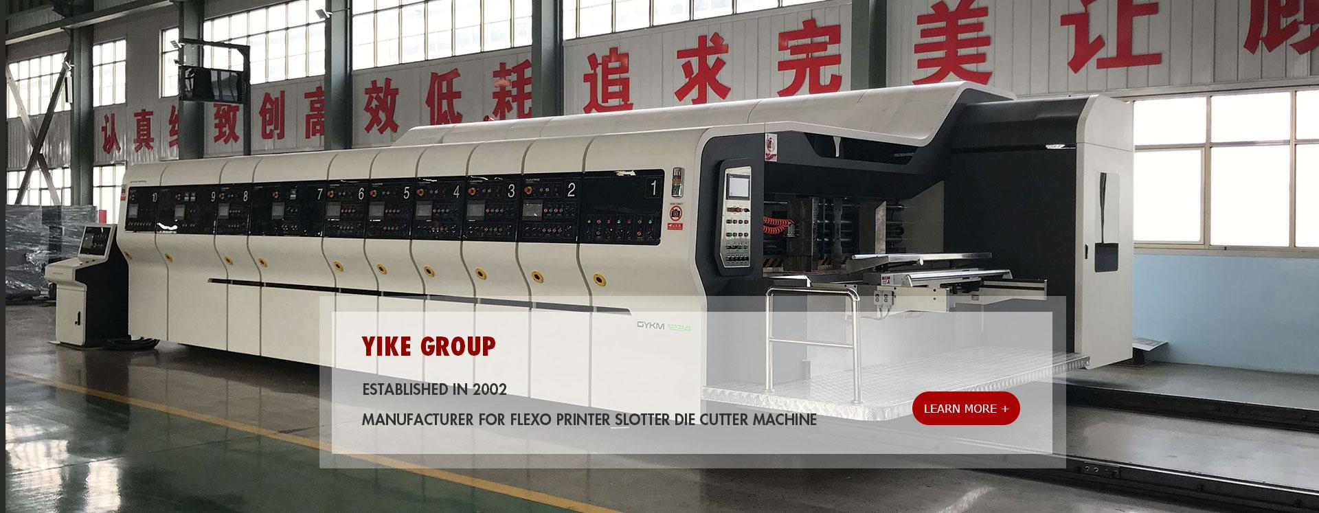 2019 New Model High Defination Flexo Printer Slotter Machine YIKE GROUP
