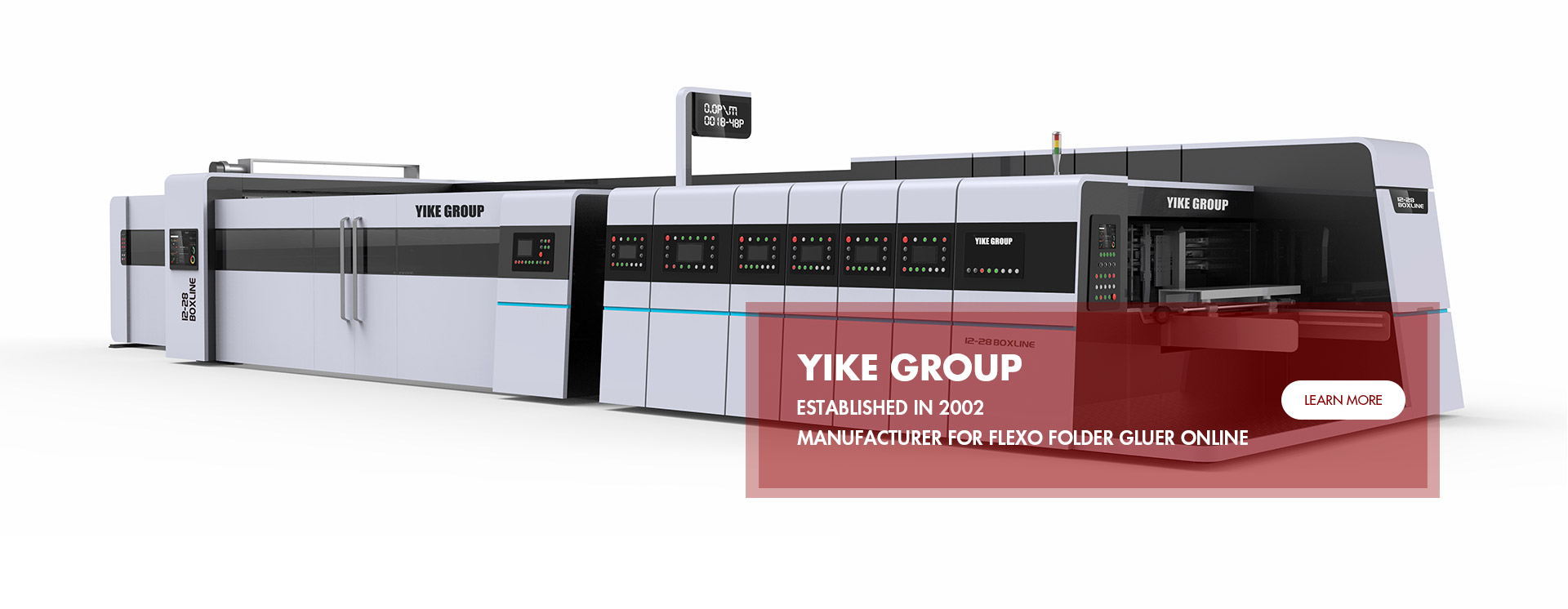 Flexo Printer Slotter folder gluer Machine YIKE GROUP