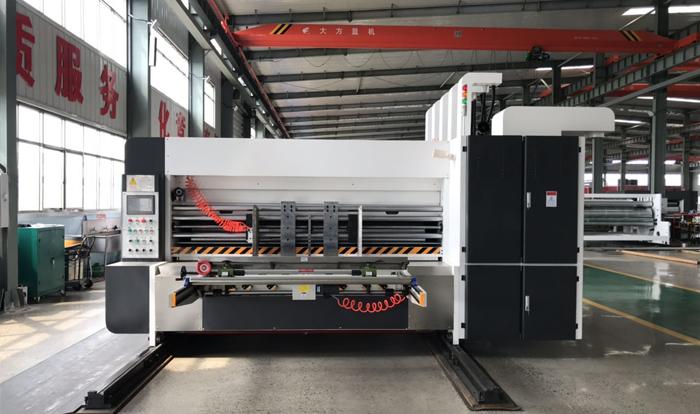 Econimic Type Flexo Printer Slotter Machine