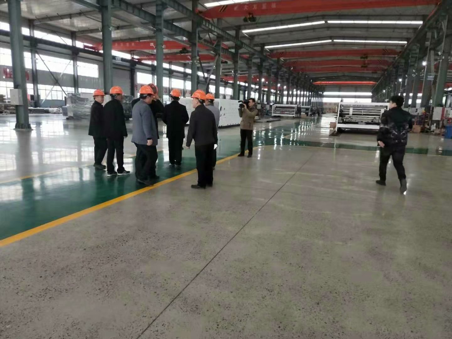 Warmly welcome county leaders to visit YUNXIANG GROUP for inspection and guidance.