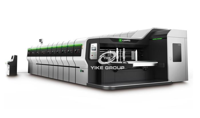 HDX-1224 New Model High Defination Flexo Printer Slotter Rotary Die Cutter Machine