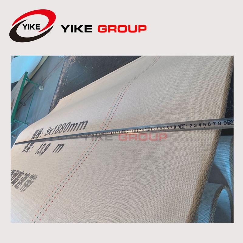 Woven type corrugator belts