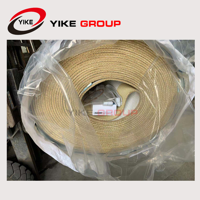 Woven Type Corrugated Belts YIKE GROUP