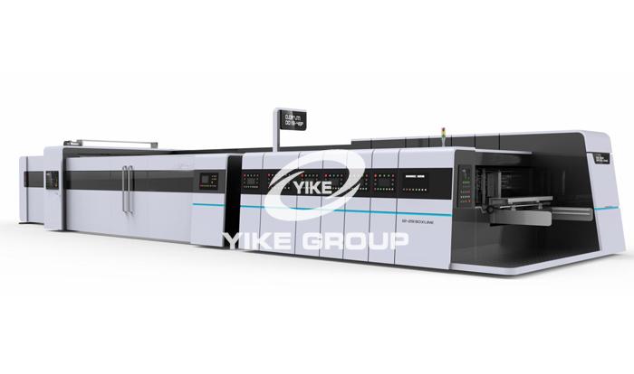 Euro Grade-Flexo Printer Slotter with Folder Gluer online