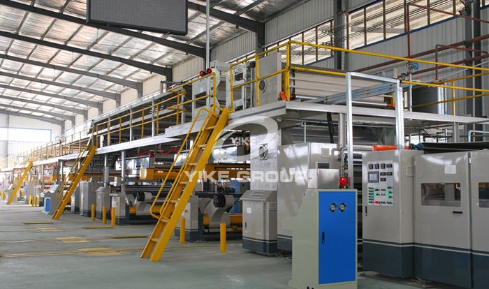 5 Ply Auto Corrugated Cardboard Production Line