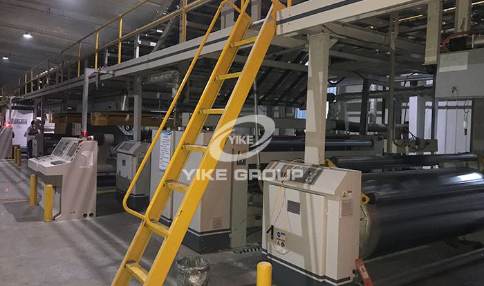7 Layer Corrugated Cardboard Production Line