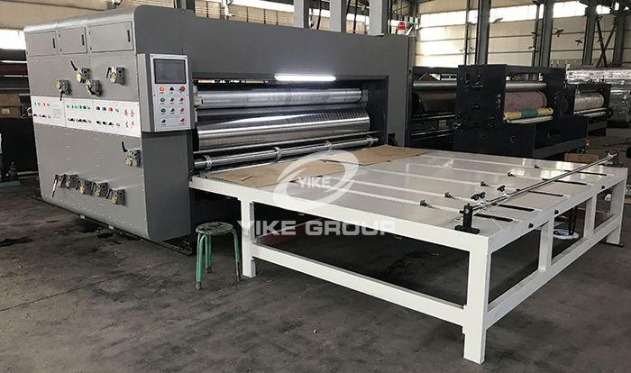 Máquina de ranuradora de impresora de alimentador de cadena