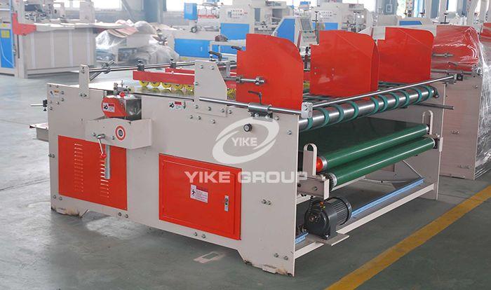 YIKE Type Semi Automatic Pressing Type Gluing Machine