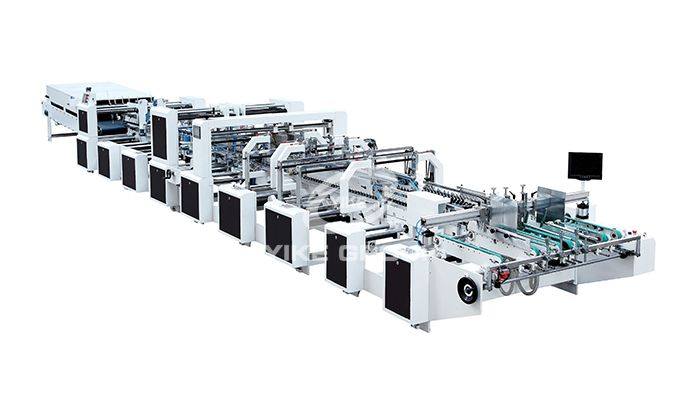 YK-SL Four Six Corner Gluing Folding Machine
