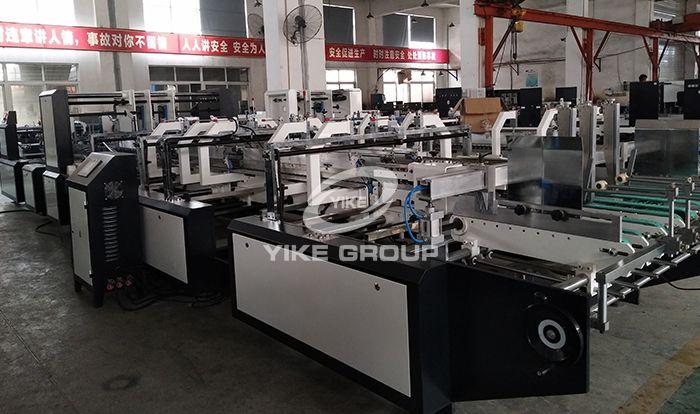 YK-SL Four Six Corner Gluing Folding Machine