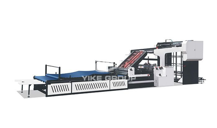 YK-G High Speed Flute Laminator Machine