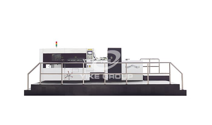 Lead Edge Flat Bed Die Cutting Machine
