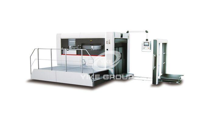 Semi-Automatic Flat Creasing And Die Cutting Machine