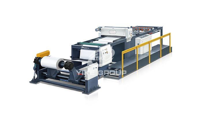 Paper Roll to Sheeter Machine
