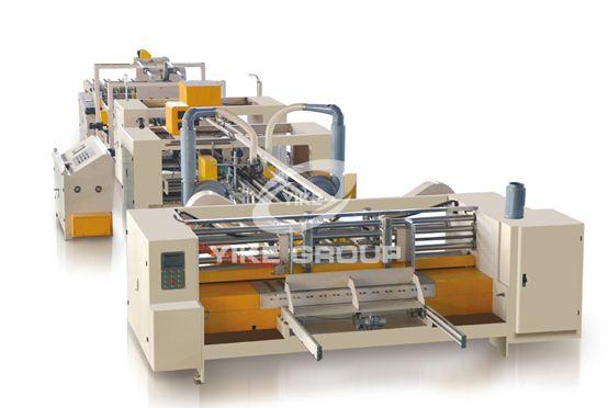 Fully Auto Carton Stitching & Folder Gluing Machine