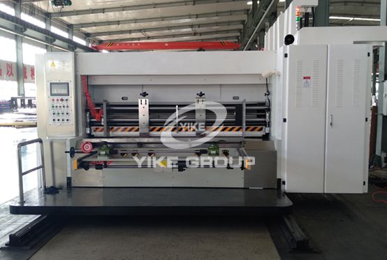 Fully Computer Flexo Printer Rotary Die Cutter Machine