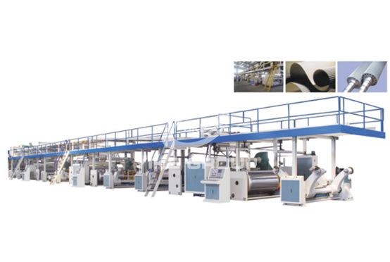 5 Ply Automatic Corrugated Cardboard Production Line