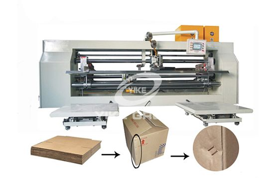 Semi Type Double Pieces Stitcher Machine 2