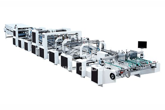 Four Six Corner Gluing Folding Machine 4.6