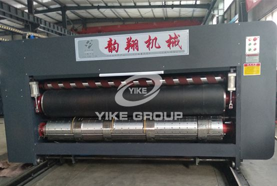 Chain Type Rotary Die Cutter With Slotter Combined Machine