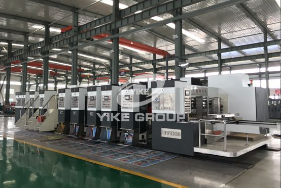 HDX-1224 High Defination Flexo Printer Slotter Rotary Die Cutter Machine