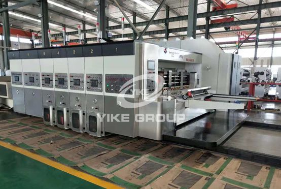 High Defination Flexo Printer Rotary Die Cutter Machine With Stacker