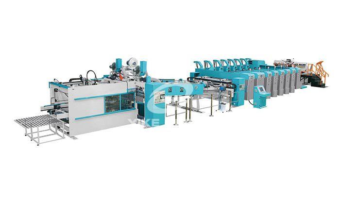 FFG-Flexo Printer Slotter Die Cutter with Folder Gluer online