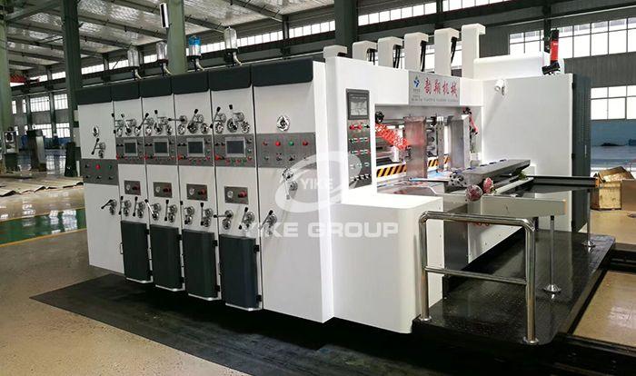 Lead Edge Feeder Printer Die Cutter Machine