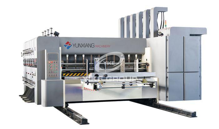 High Speed Flexo Printer Slotter Die Cutter Machine