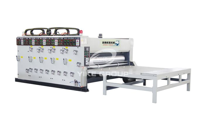 Chain Feeder Printer Slotter Machine