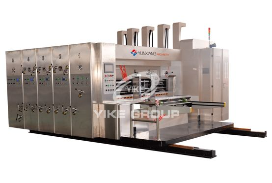 Lead Edge Feeder Printer Die Cutter Machine