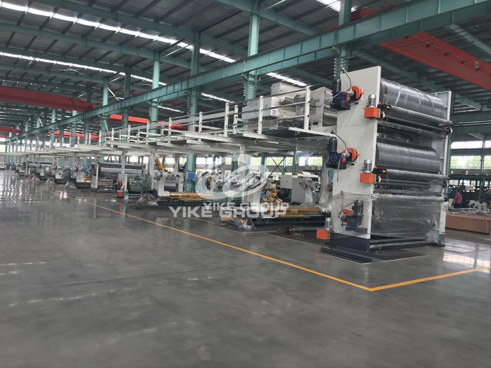 Corrugated Cardboard Production line