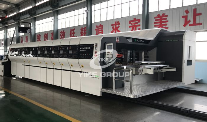 2019 New Type High Defination Flexo Printer Sloter Die Cutter Machine
