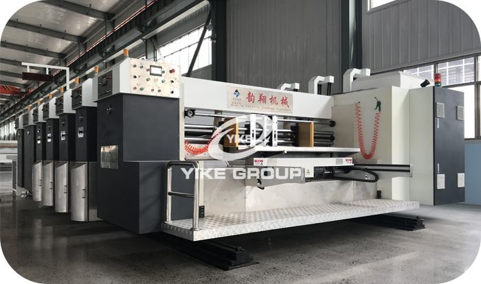 High Defination Flexo Printer Slotter Die Cutter Machine YUNXIANG GROUP