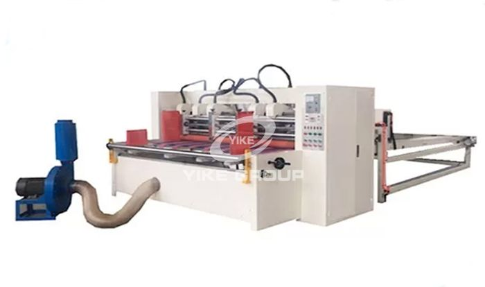 Auto Feeder Corrugated Slitter Machine With Stacker