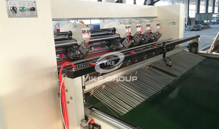 Auto Feeder Corrugated Slitter Machine With Stacker