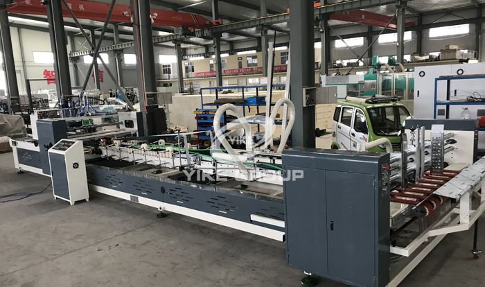 Automatic Folder Gluer Machine for Small Box