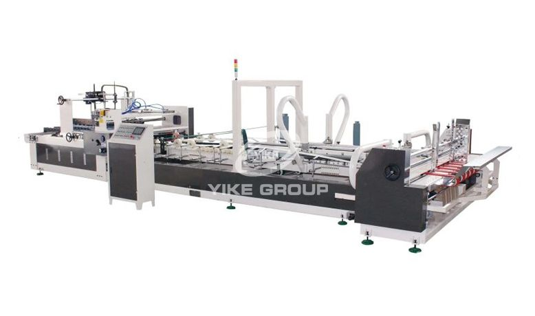New Carton Box Folder Gluer Machine