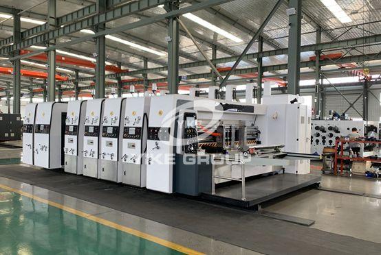 New Modle High Speed Flexo Printer Slotter Die Cutter Machine