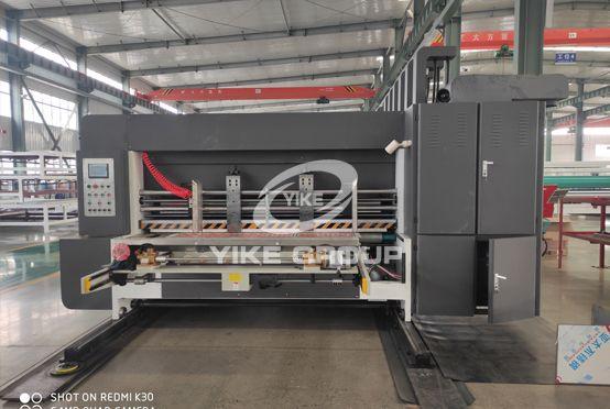 Economic Type Lead Edge Feeder Carton Box Flexo Printing Slotting Die Cutter Machine