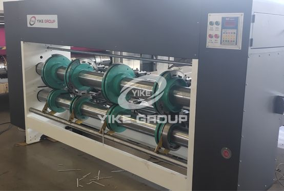 RS4, Chain Type Rotary Slotter Machine, Combined Adjustment