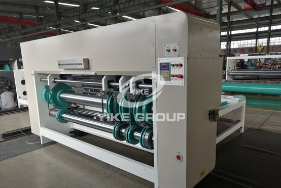 Yike Group Chain feeder slotter machine-electric type