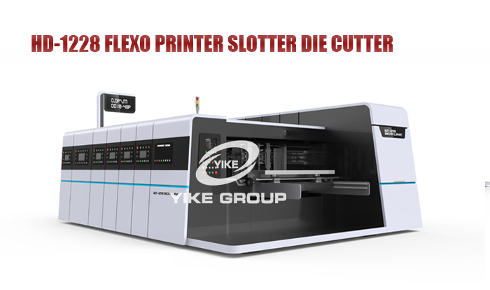 2019 New Type High Defination Flexo Printer Sloter Die Cutter Machine