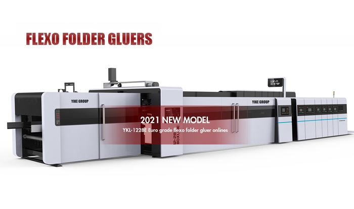 Euro Grade-Flexo Printer Slotter with Folder Gluer online