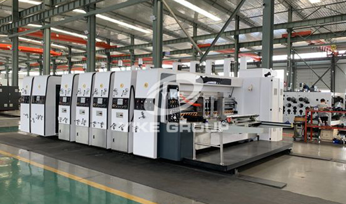 New Modle High Speed Flexo Printer Slotter Die Cutter Machine